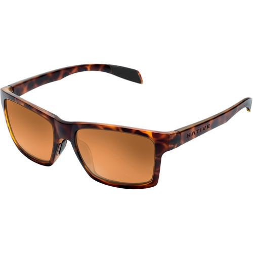 Native Eyewear Flatirons Sunglasses (Tigers Eye - Bronze Reflex)