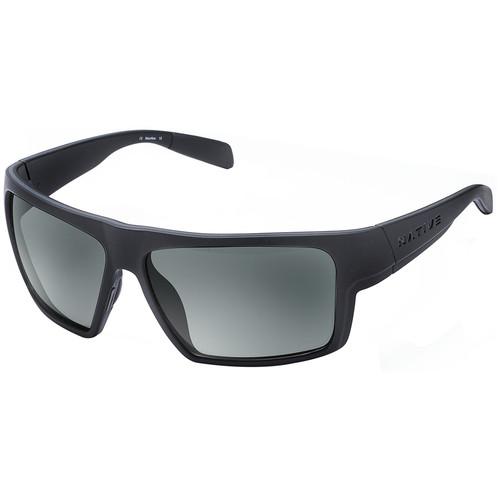Native Eyewear Eldo Sunglasses (Asphalt/Dark Gray Frame, Gray Lenses)