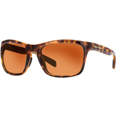 Native Eyewear Penrose Sunglasses (Maple Tortoise Frame, Brown Lenses)