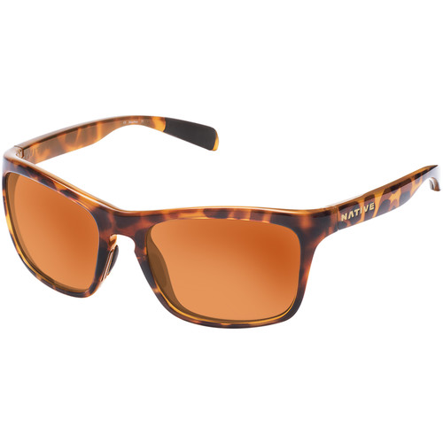Native Eyewear Penrose Sunglasses (Desert Tortoise/Beige/Orange Frame, Bronze/Brown Reflex Lenses)