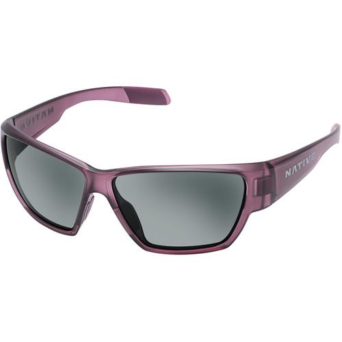 Native Eyewear Wolcott Sunglasses (Mulberry Frame, Gray Lenses)