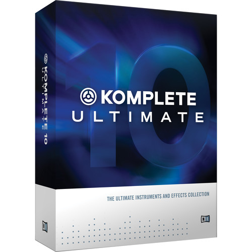 Native Instruments KOMPLETE 10 ULTIMATE - Virtual Instruments and Effects Collection (Educational Discount 5-Pack)