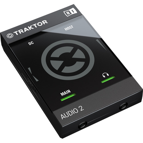 Native Instruments TRAKTOR AUDIO 2 Portable DJ Interface