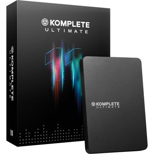 Native Instruments KOMPLETE 11 ULTIMATE Virtual Instruments and Effects Collection (Update)