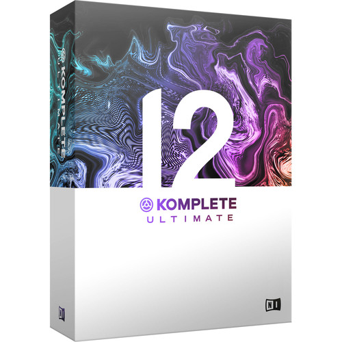 Native Instruments KOMPLETE 12 ULTIMATE - Virtual Instruments and Effects Collection (Educational, 5-Pack)