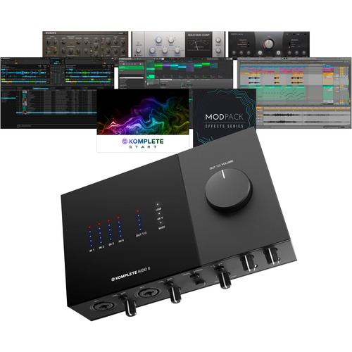 Native Instruments KOMPLETE AUDIO 6 Mk2 6-Channel USB Audio Interface