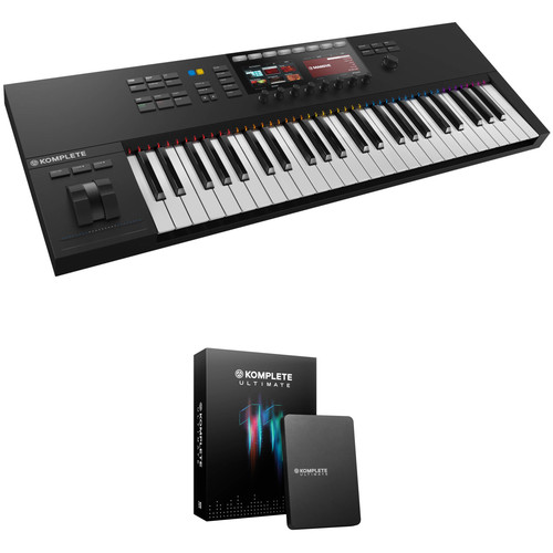 Native Instruments KOMPLETE KONTROL S49 Kit with KOMPLETE 11 Software (Ultimate Upgrade Edition)
