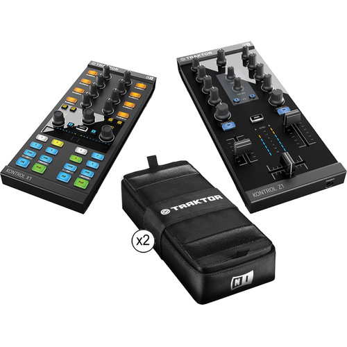Native Instruments Native Instruments Z1 + X1 Controller Bundle with Two Cases