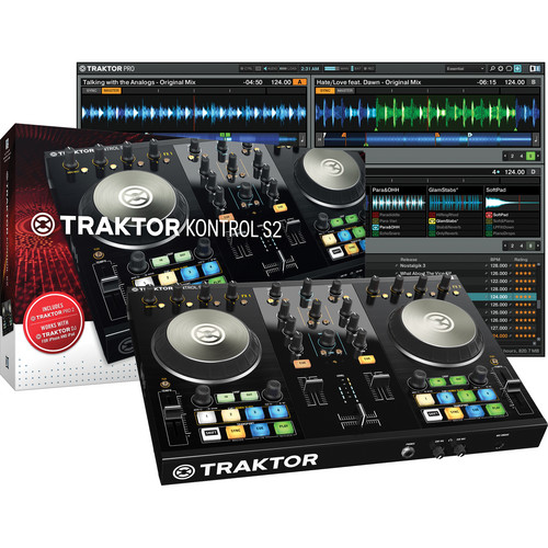 Native Instruments TRAKTOR KONTROL S2-MK2 Kit with DJ Headphones