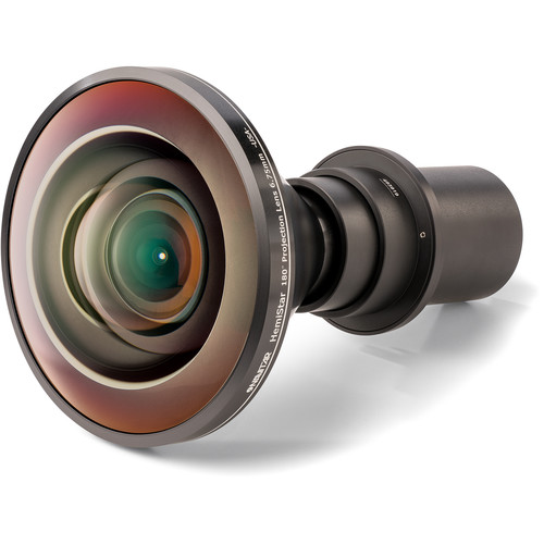 Navitar Hemistar 180° 6.75mm Non-Relay Projection Lens for Dome Surfaces