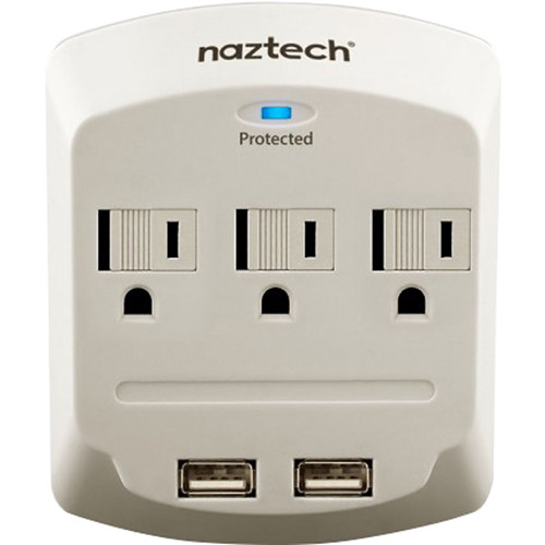 Naztech NP160 Power Center with Surge Protector