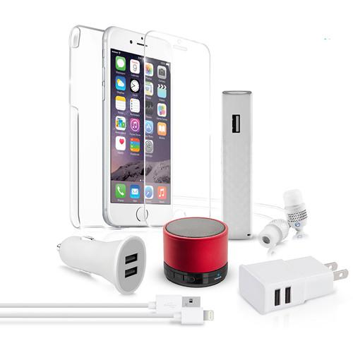 Naztech Red Carpet Premium 8 Essentials Kit for iPhone 6/6s Plus