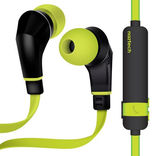 Naztech NX80W Wireless Earphones (Lime/Black)