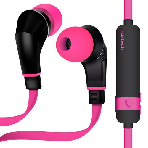 Naztech NX80W Wireless Earphones (Pink/Black)