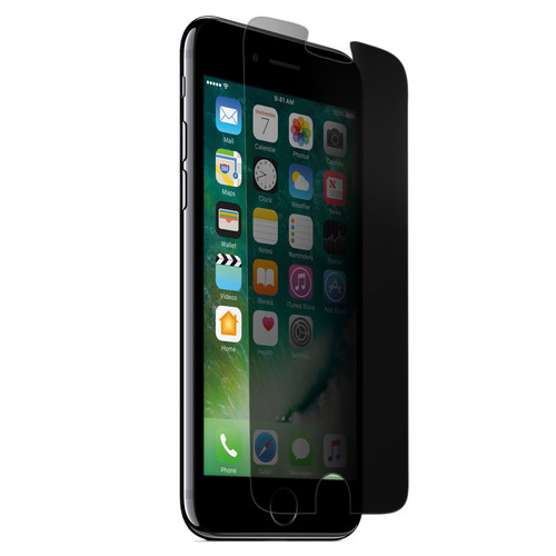 Naztech Privacy Tempered Glass Screen Protector for iPhone 6/6s/7/8 Plus
