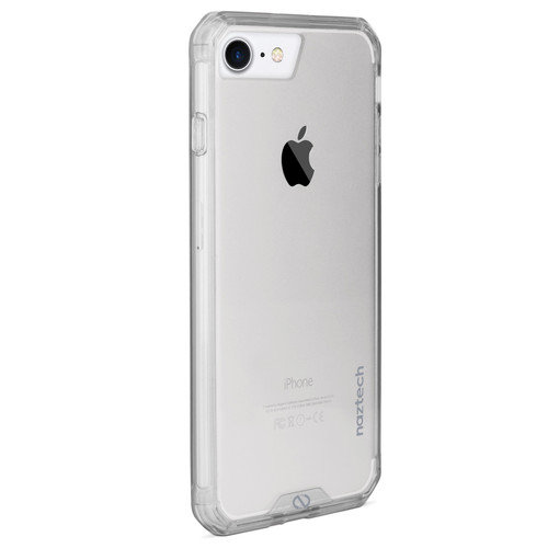 Naztech Hybrid Edge PC+TPU Case for iPhone 6/6s/7/8 (Clear)