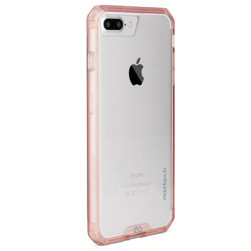 Naztech Hybrid Edge PC+TPU Case for iPhone 6s Plus/7 Plus/8 Plus (Pink)
