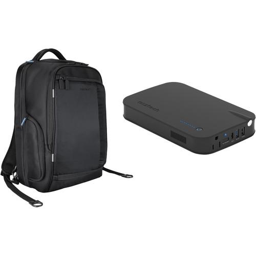 Naztech Smartpack Backpack with Volt Power Station Bundle (Black)
