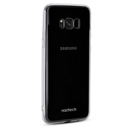 Naztech Hybrid PC+TPU Case for Samsung Galaxy S8 (Clear)