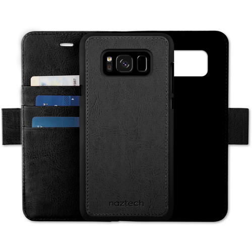 Naztech Allure Magnetic Folio Case & Wallet for Samsung Galaxy S8+