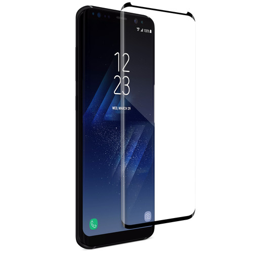 Naztech Premium HD Tempered Glass Screen Protector for Samsung Galaxy S8