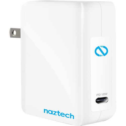 Naztech 18W USB-C PD Super Speed Wall Charger