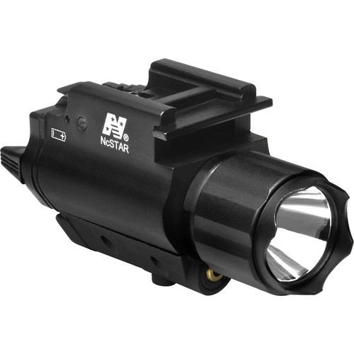 NcSTAR AQPFLS Flashlight & Red Aiming Laser with Weapon Light
