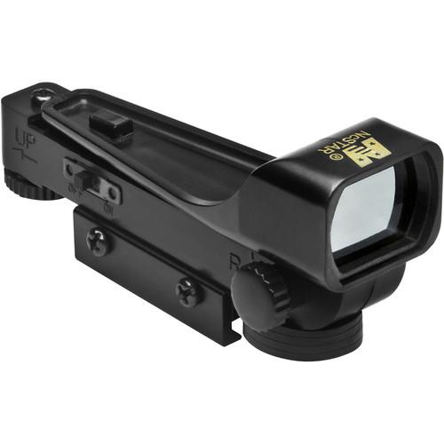 "NcSTAR 1x34 Red Dot Reflex Sight (3/8"" Dovetail Base)"