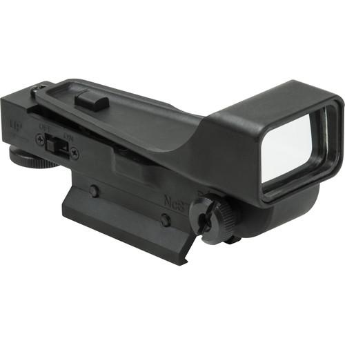 NcSTAR 1x34 Red Dot Reflex Sight (Picatinny/Weaver Mount, Black)