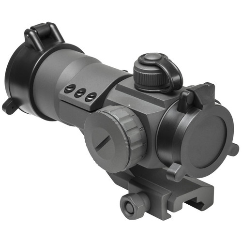 NcSTAR 1x35 Red/Green/Blue Dot Reflex Sight (Gray)