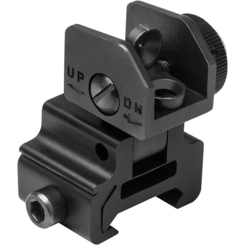 NcSTAR AR-15 Flip-Up Rear Sight