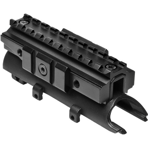 NcSTAR Picatinny/Weaver Tri-Rail Receiver Cover Mount for SKS Carbines