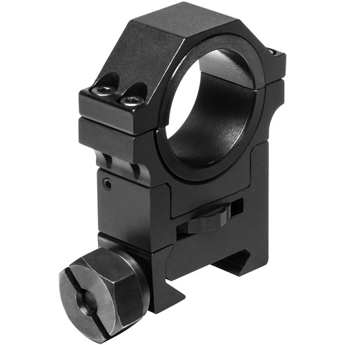 """NcSTAR Adjustable-Height Scope Ring (30mm with 1"""" Insert)"""