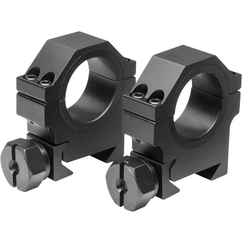 """NcSTAR 30mm HD Riflescope Rings with 1"""" Inserts (Medium)"""