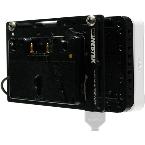 Nebtek Power Cage with Battery Adapter for SmallHD 702 Monitor (Gold Mount)