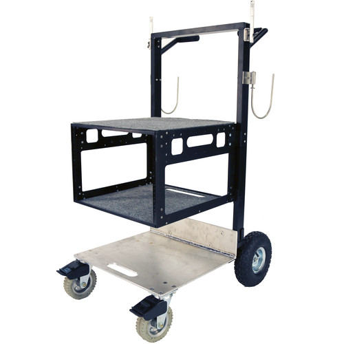 Nebtek 7RU Nebekart Production Cart Bundle with Cable Hooks and Pins