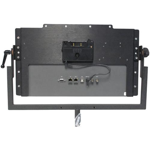"""Nebtek Anton Bauer Battery Plate for Blackmagic Smartview HD 17"""" Bracket"""