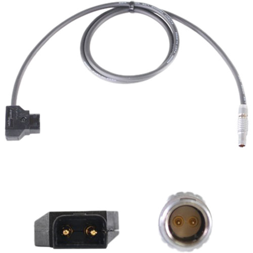 "Nebtek Power-Tap Male to 2-Pin LEMO Bolt Power Cable (18"")"
