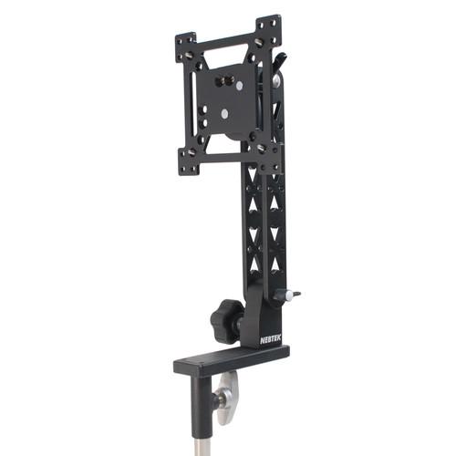 "Nebtek VESA Pro Ball Lock Mount for 25"" Monitor with Portrait/Landscape Rotation & Offset Balance Arm"