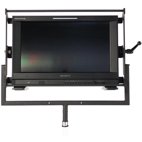 "Nebtek Bracket with Protective Rail for Sony OLED 1741 17"" Monitor"