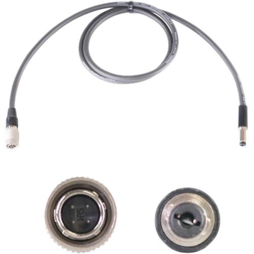 "Nebtek Sony 4-Pin Hirose Male to 2.5mm DC Barrel Decimator Power Cable (24"")"