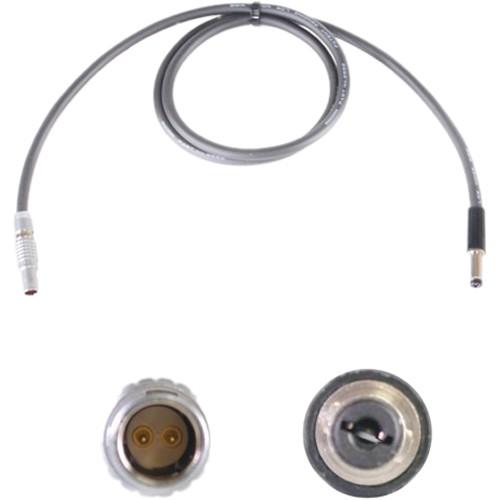 "Nebtek ARRI2 2-Pin LEMO Male to 2.5mm DC Barrel Decimator Power Cable (24"")"