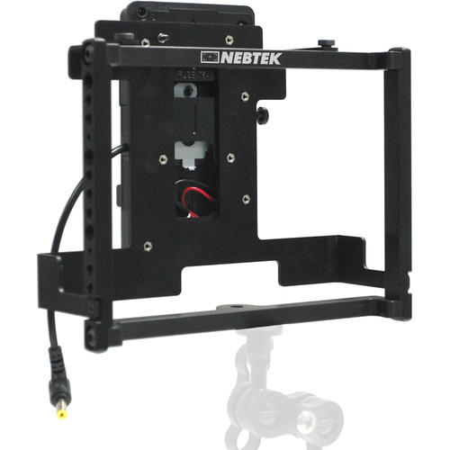 Nebtek Power Cage with Battery Plate for Video Devices PIX-E7 Recording Monitor (IDX V-Mount)