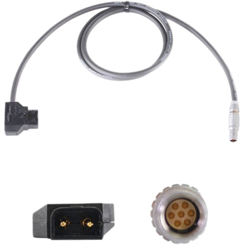Nebtek Power-Tap to 7-Pin Male LEMO MicroLite Transmitter Power Cable