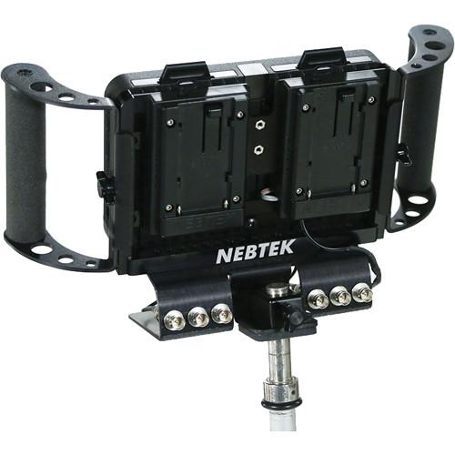 Nebtek Power Bracket with Dual JVC BN-V400 Series Plate for Odyssey7