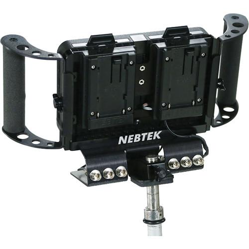 Nebtek Power Bracket with Dual Panasonic CGR-D Series Plate for Odyssey7