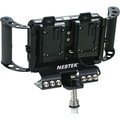 Nebtek Odyssey7 Power Bracket with Dual Panasonic CGR-D Series Plate