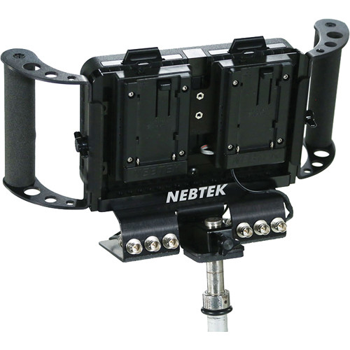 Nebtek Odyssey7 Power Bracket with Dual Sony M Series Plate
