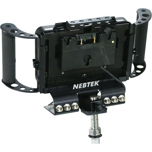 Nebtek Odyssey7 Power Bracket with Anton Bauer Plate