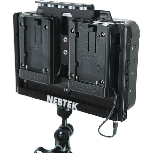 Nebtek Odyssey7 Power Cage with Dual JVC BN-V400 Series Battery Plates